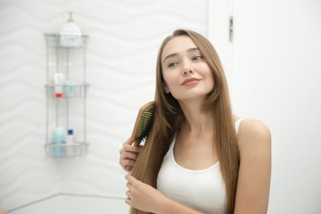 brossage naturel cheveux